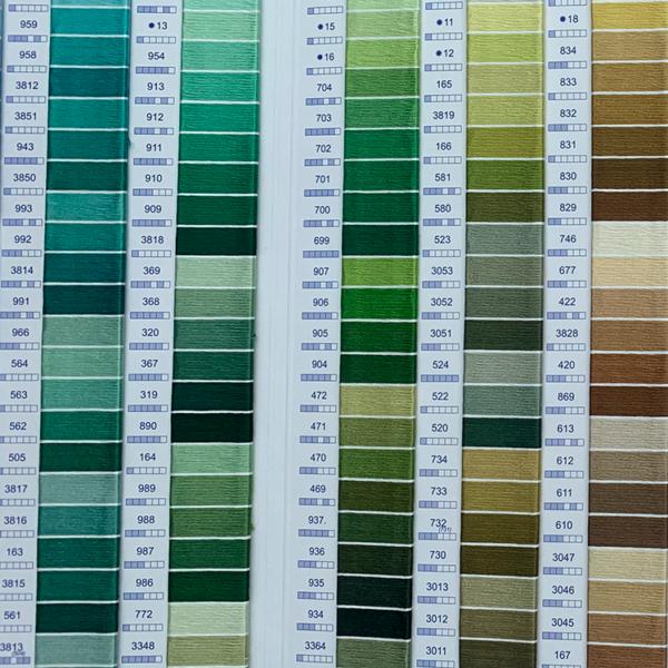 grønne nuancer